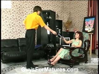 Lillian&Marcus attractive mom on video