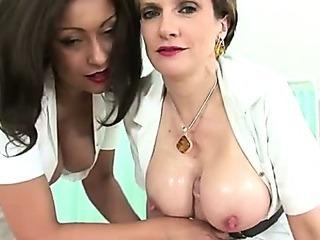 Busty british sluts handjob