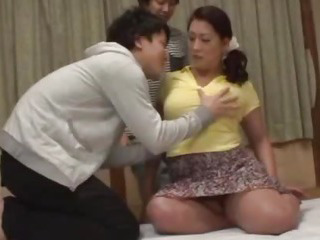 Japanese beauty Neko gets her plump body fucked