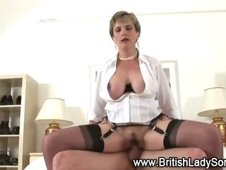 Check busty mature brit get a cumshot