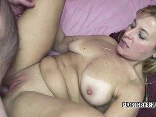 Mature slut Liisa is getting her tight twat fucked hard