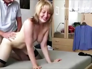 Blonde milf Homemade