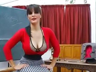 Best Mom Teacher Heels Stockings POV. See pt2 at goddessheelsonline.co.uk