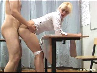 Russian mature teacher - Nadezhda (mature teachers orgies)
