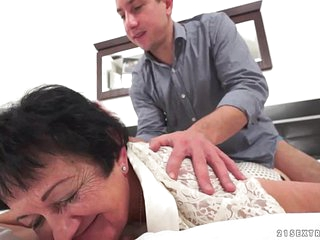 Mature lady wishes for a young, hard cock