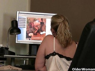 Mom's sure-fire masturbation technique