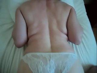 Real nice mature mom wife voyeur homemade ass cum son spy amateur milf POV cam