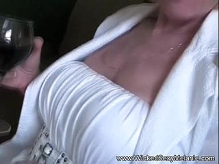 Slut Stepmom Swallows Cum