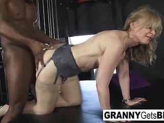 Sexy Grannies get Big Black Cocks